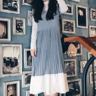 Midi Stripes Dress