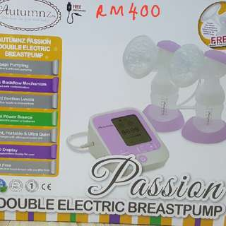 Autumz Passion Double Electric Breast Pump