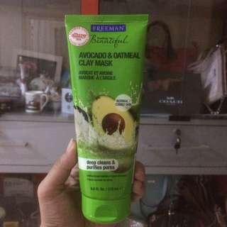 Freeman mask avocado