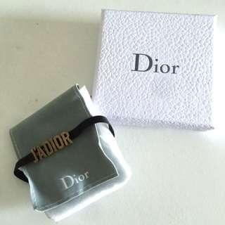 "Dior ""j'adore"" choker"