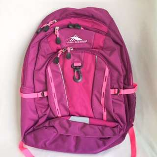 High Sierra Backpack In Merlot from USA 🇺🇸