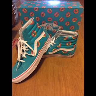 Vans x golf wang size 10us