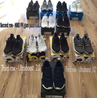 Ultraboost & NMDS All For Sale ! Only