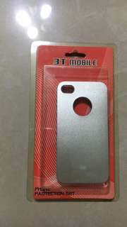 silver iphone 4 phonecase