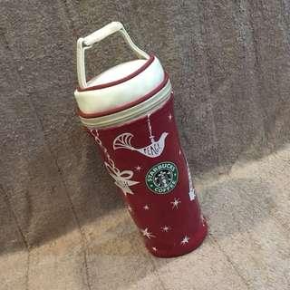 Starbucks tumbler bag