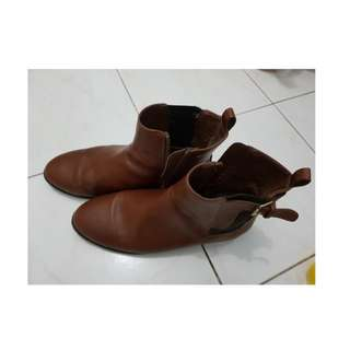 Boot Forever 21 (Brown Size 39)