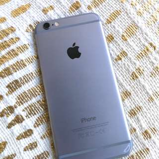 iPhone 6 64 GB space grey!