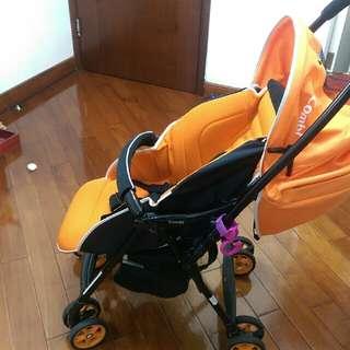 combi 雙向bb 嬰兒車 (可單手摺)