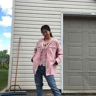 Pastel Pink Alia Jacket