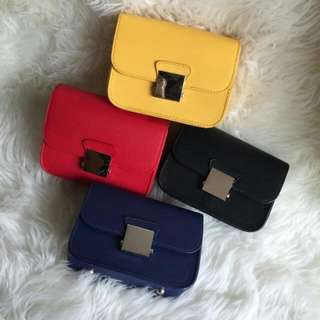 ZARA DOUBLE STRAP BAG