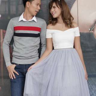 Tutu tulle gray skirt