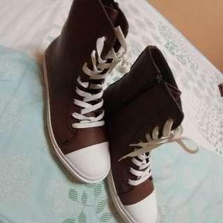 high cut fashion shoes