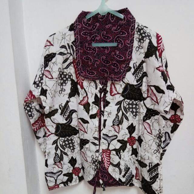 2 In 1 Blazer Batik #SSS