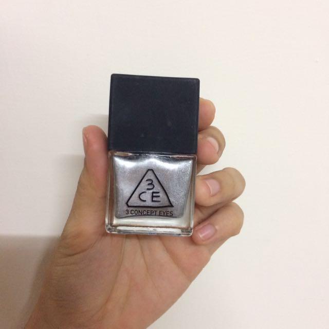 3CE雷射指甲油