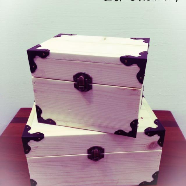 精緻手工木盒