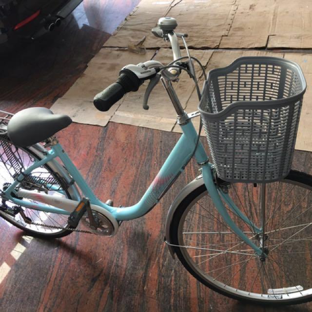 捷安特六段自行車