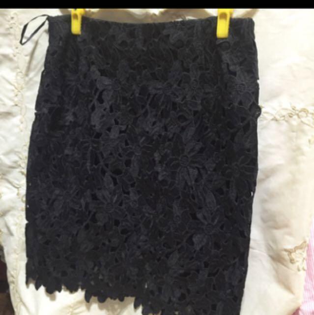 蕾絲裙 Size L