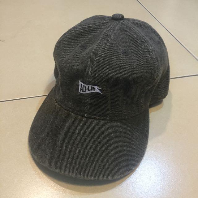 ADLIB 港牌 香港 紳士 鐵灰 骯髒灰 老帽 古著
