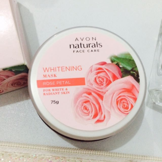 Avon Withening Mask (Rose Petal)