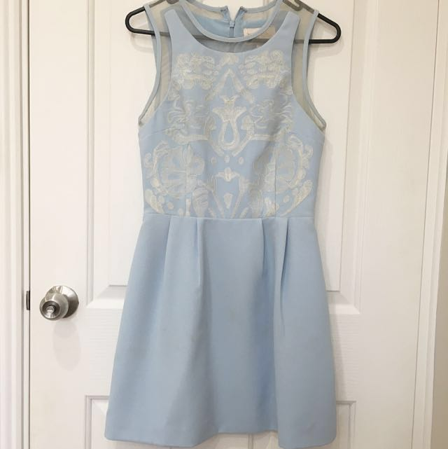 Baby Blue Formal dress