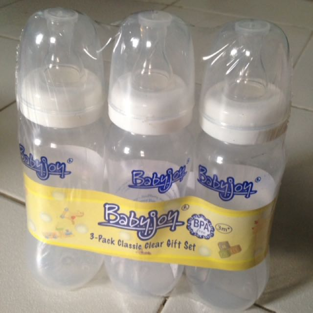 Baby joy milk bottles