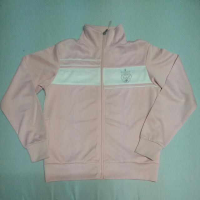 REPRICED Baleno Jacket, Light Pink And White