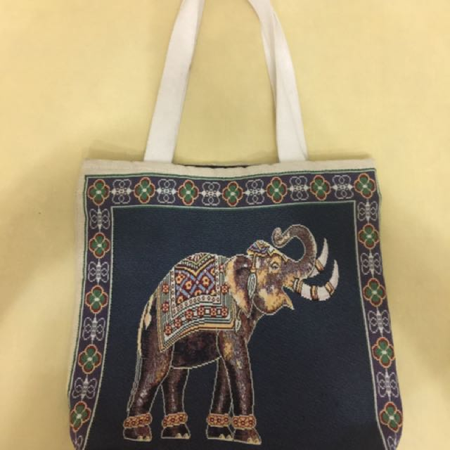 BANGKOK Ladies Cloth Elephant Bag