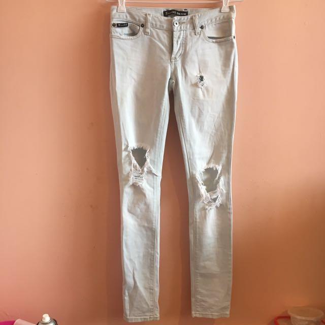Bardot ripped skinny jeans
