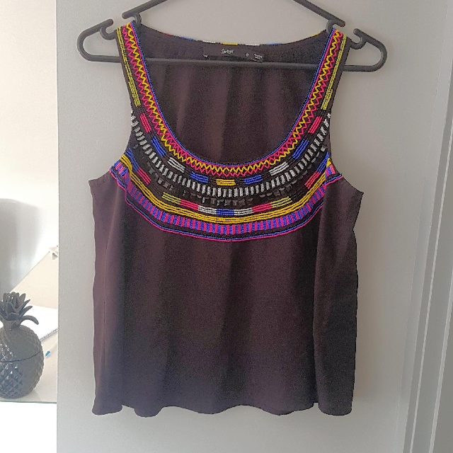 Beaded Sportsgirl top