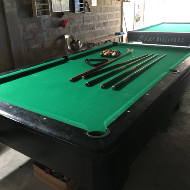 Billiard Table Local Made By Francisco Billiards U0026 Pool, Sports, Other  Sports Equipment On Carousell