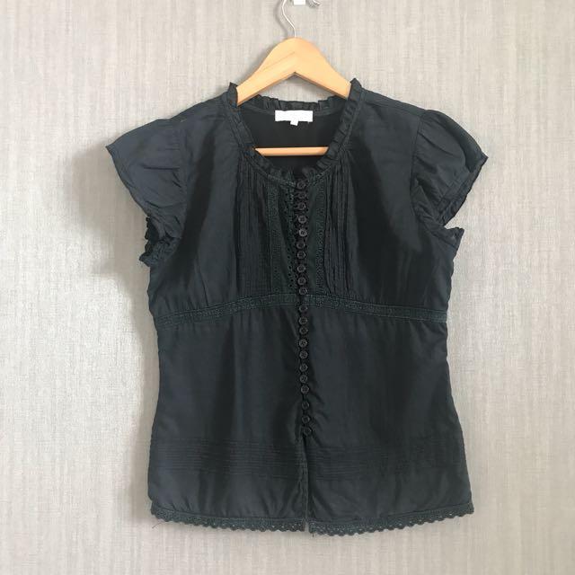 Black Casual Top
