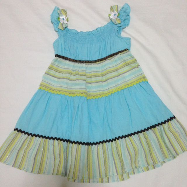 Blue Dress For 2-3 Years Old