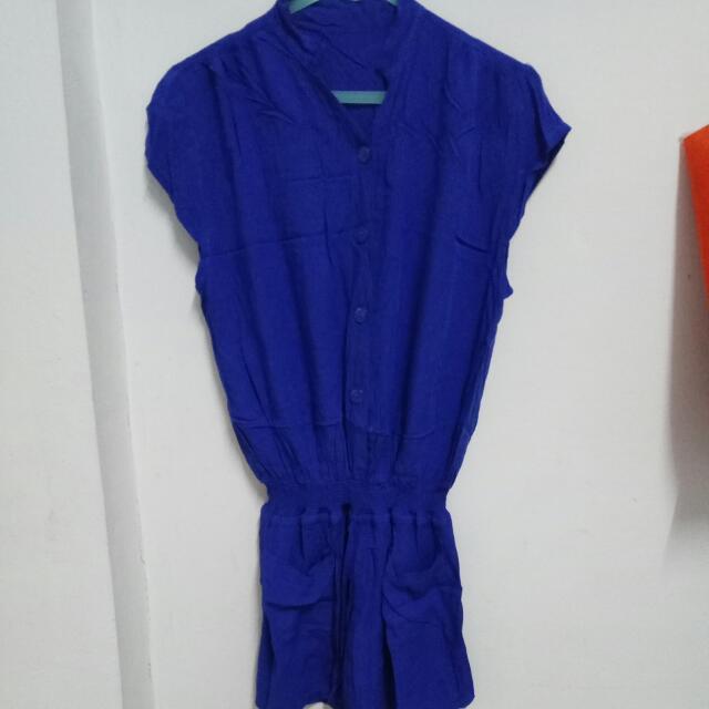 Blue Jumpsuit #SSS