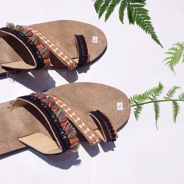 Boho Sling Sandal 7A