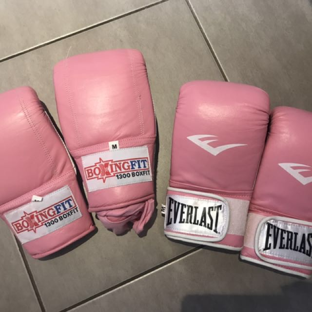 Boxing gloves $20 for both