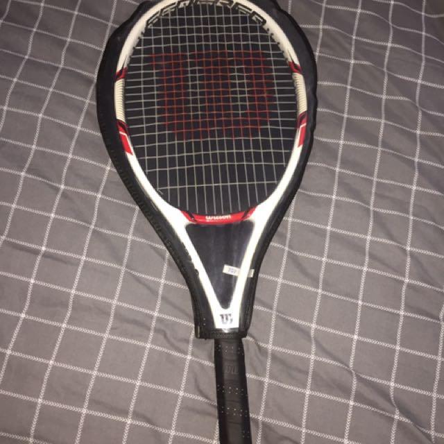 Brand new original roger Federer Wilson racket