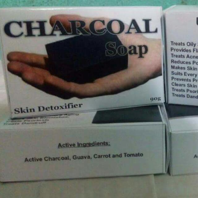 Charcoal Soap Detoxifier