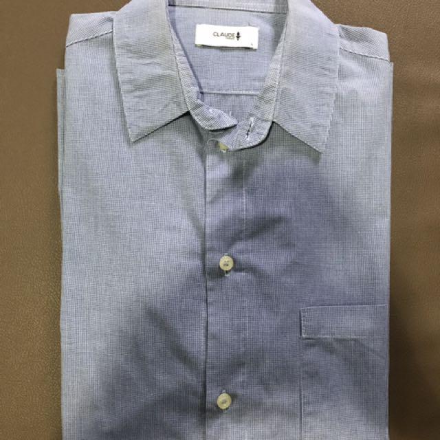 Claude Maus Casual Shirt Size L ( better fit M)