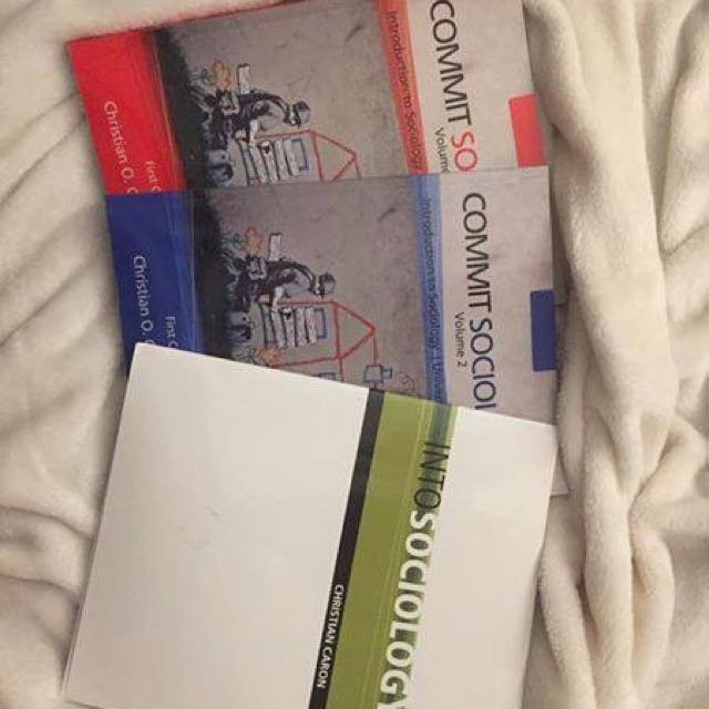 Commit Sociology textbooks