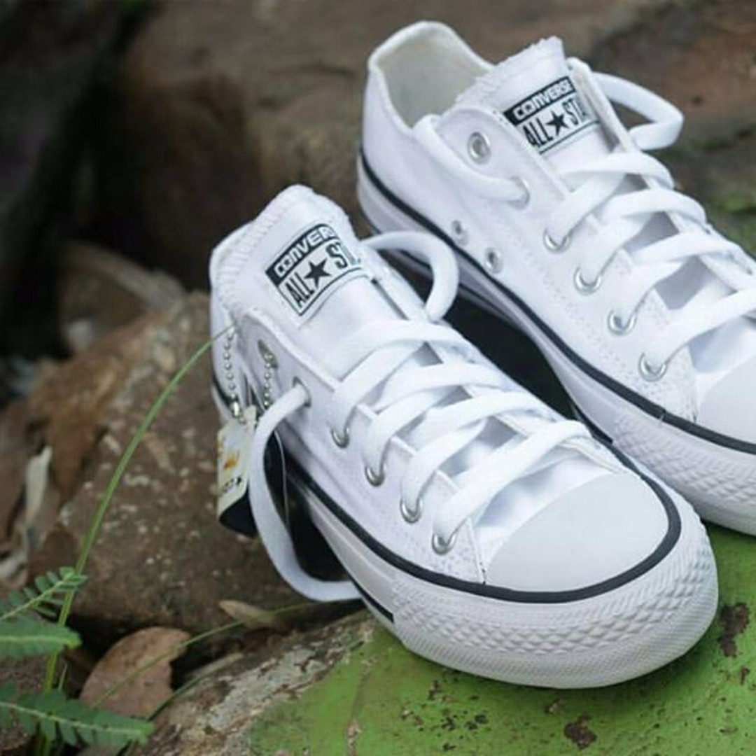 Converse All Star Low Classic White Black Series