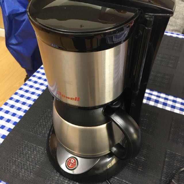 Dowell 6-cup coffee brewer