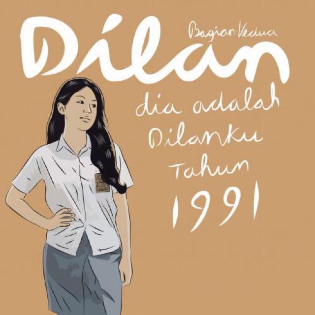 E-book Dilan (bagian kedua)