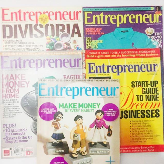 Entrepreneur Magazine Bundle