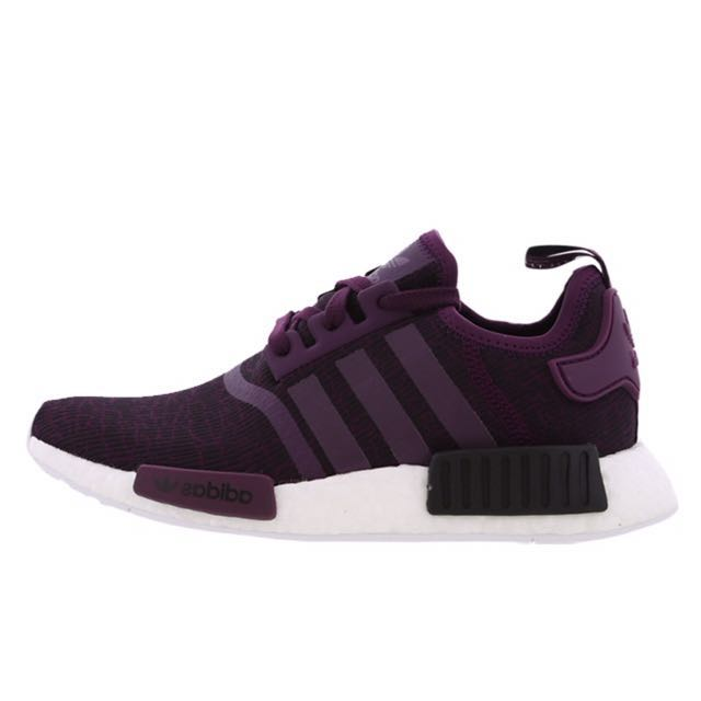 ee0af6789641c EUROPE EXCLUSIVE  Adidas NMD R1 Maroon Red Night Wine