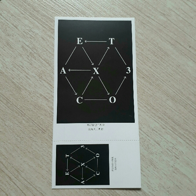 EXO Post Card/s