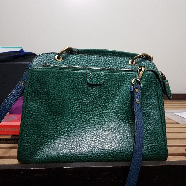 Fino Leatherware shoulder/crossbody bag