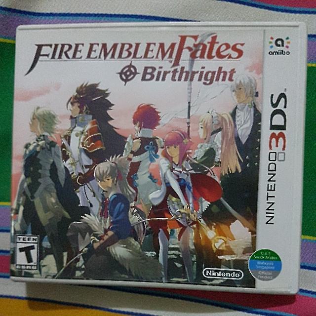 Nintendo 3DS Game: Fire Emblem Fates - Birthright