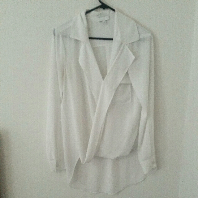 Floaty White Witchery Shirt (perfect for Spring / Summer work-drobe!)