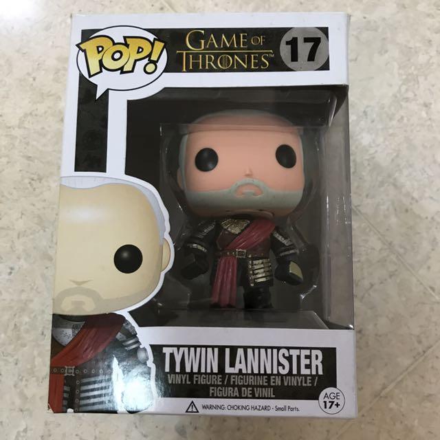 Funko Pop Tywin Lannister (gold armor)