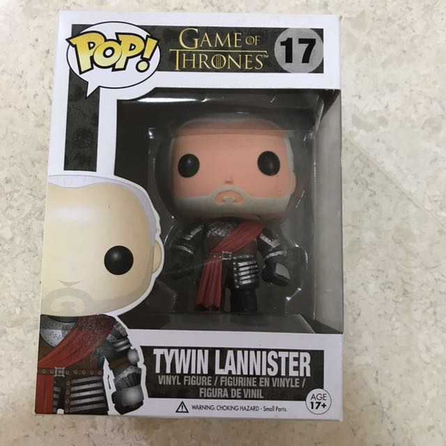 Funko Pop Tywin Lannister (silver armor)
